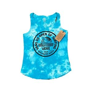 Vans Women's US Open Surfing Tank Top Shirt Small